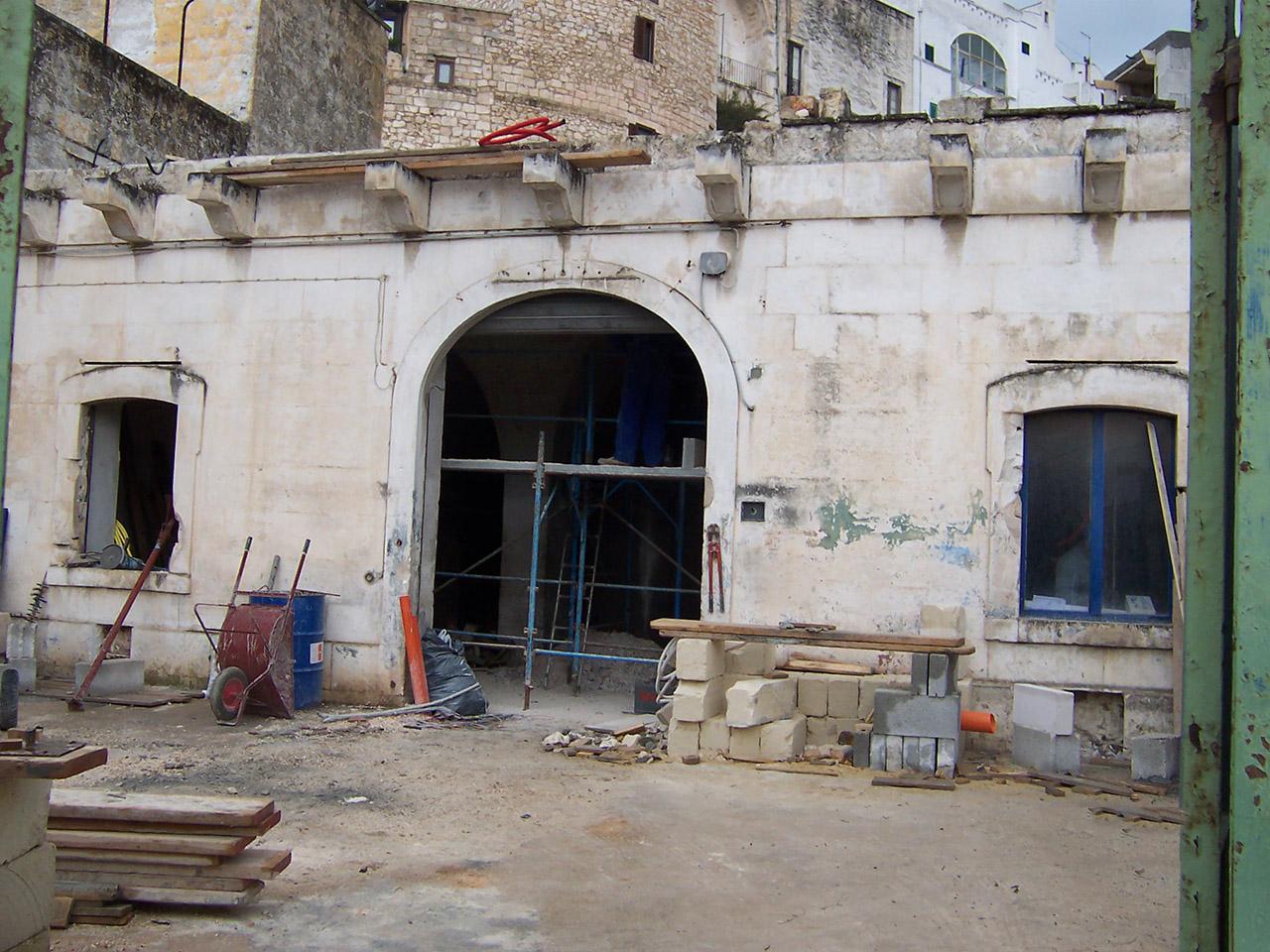 costruzioni restauri sirio ostuni ristrutturazione restauro ristorante acquasale centro storico ostuni 100 3913